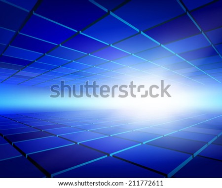 Abstract panels. Vector illustration. - stock vector