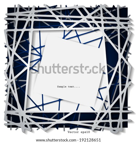 Abstract  Paper Graphics Background