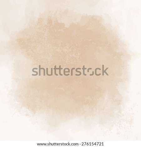 Abstract pastel  hand painted background. Vector illustration. - stock vector