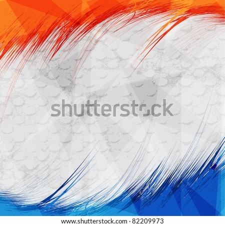 Abstract pattern for design. Retro paper background - stock vector
