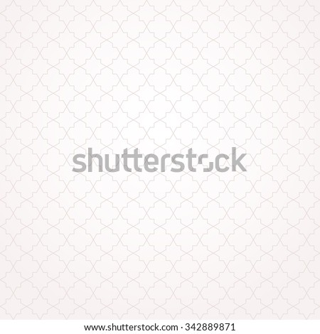 Abstract pattern in Arabian style. Seamless background. Beige and white texture - stock vector
