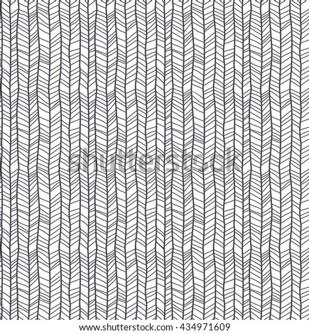 Abstract pattern of herringbone lines, eps10 vector - stock vector