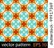 Abstract pattern. Seamless vector background - stock vector