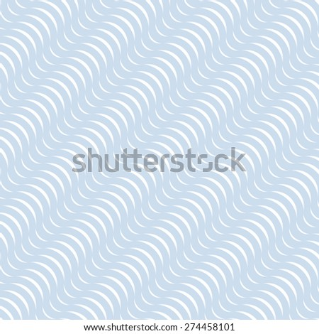 Abstract Pattern  Wave Background Curve Blue
