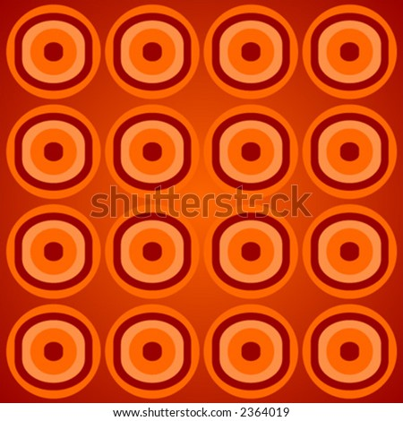 Abstract pattern with different colors and shapes