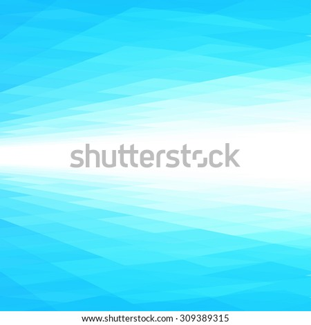 Abstract perspective blue background. Vector illustration. Ideal for brochure cover template design. - stock vector