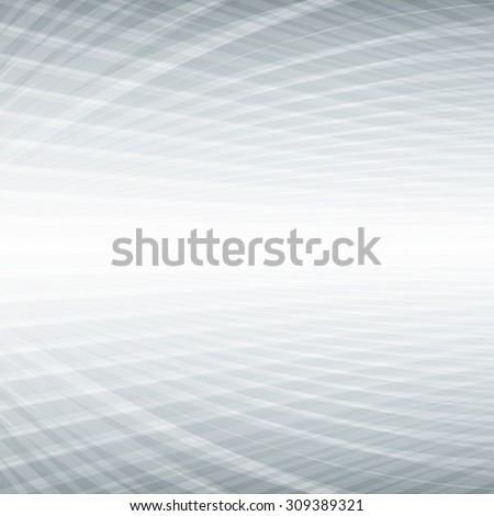 Abstract perspective grey background. Vector illustration. - stock vector