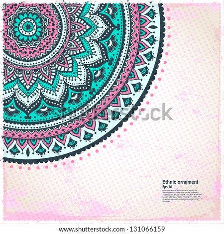 Abstract pink background - stock vector