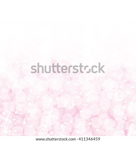 Abstract pink bokeh lights background. Vector illustration. - stock vector