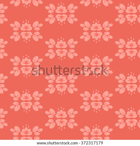 Abstract pink geometric wallpaper pattern seamless background. Vector illustration