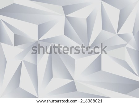 Abstract polygonal background - stock vector