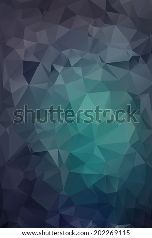 Abstract polygonal background. Triangles background for web design - stock vector
