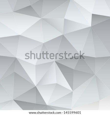Abstract polygonal background. Triangles background for your design. Geometrical lines vector eps 10 - stock vector