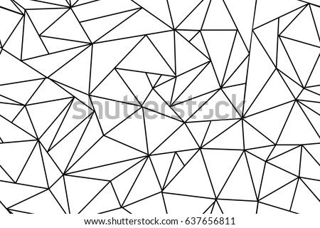 Abstract polygonal black white background flat stock illustration abstract polygonal black and white background flat vector stock illustration voltagebd Gallery