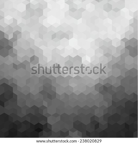 Abstract polygonal textured background - stock vector