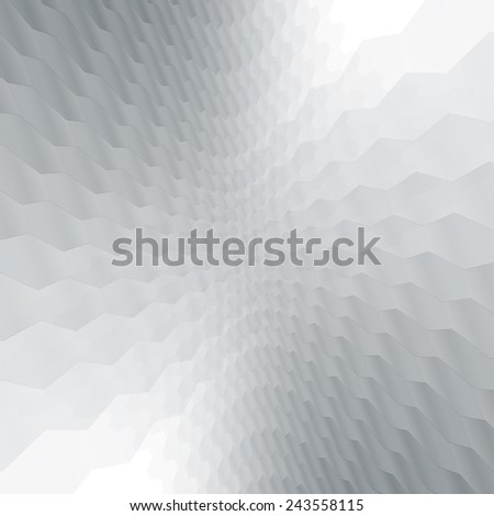 Abstract presentation background with soft grey tones. Ideal for cover design works. - stock vector