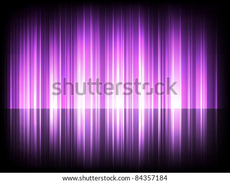 Abstract purple glowing background