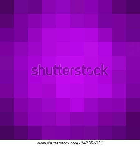 Abstract purple mosaic background - Vector - stock vector