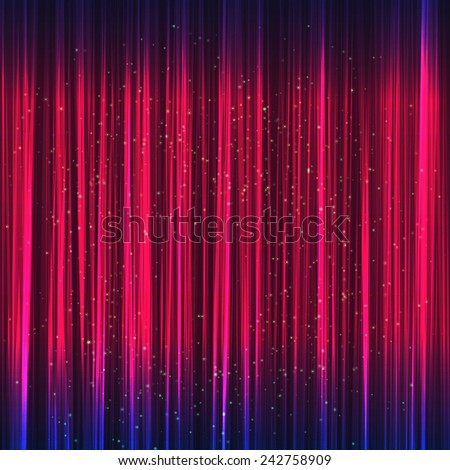 Abstract purple music equalizer. Vector illustration. - stock vector