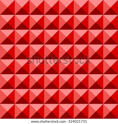 abstract pyramid seamless pattern background - stock vector