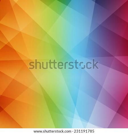 Abstract rainbow background. Modern pattern. Vector illustration. - stock vector