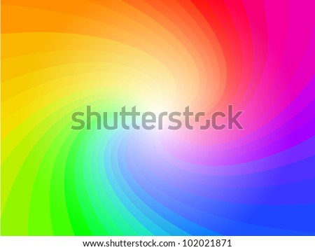 abstract rainbow colorful pattern background - stock vector