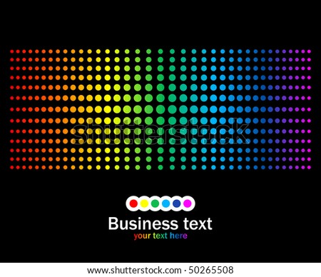 Abstract rainbow colours background. Modern vector illustration. - stock vector