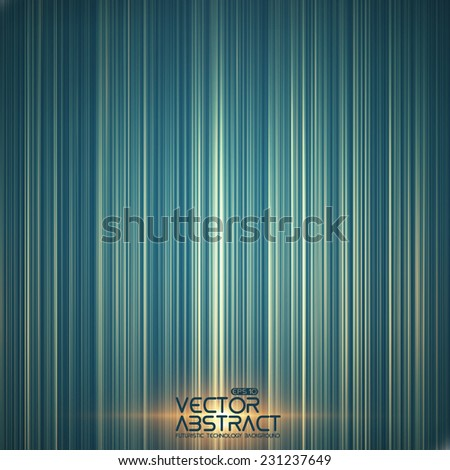 Abstract random glowing lines background. Colorful stripes. Technological cyberspace background.  - stock vector