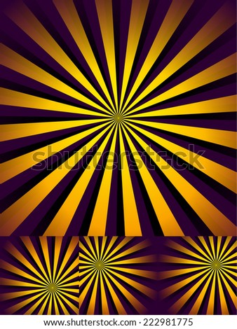 """Abstract """"rays"""" backgrounds - stock vector"""