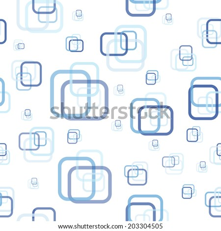 Abstract rectangle seamless pattern. Vector illustration.  - stock vector