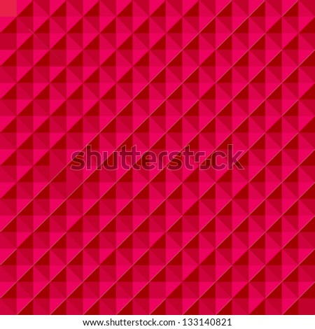 Abstract red vector background - stock vector