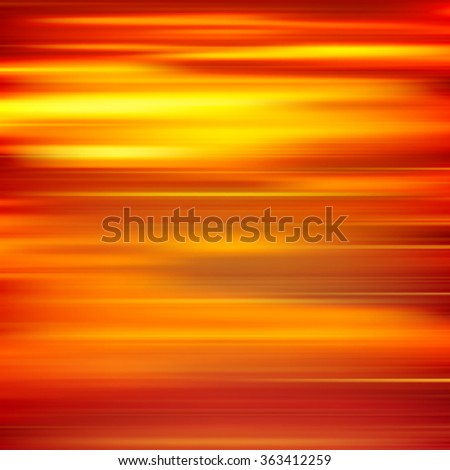 abstract red yellow motion blur background vector illustration - stock vector