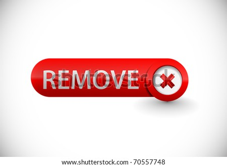 Abstract remove beautiful icon design element. - stock vector