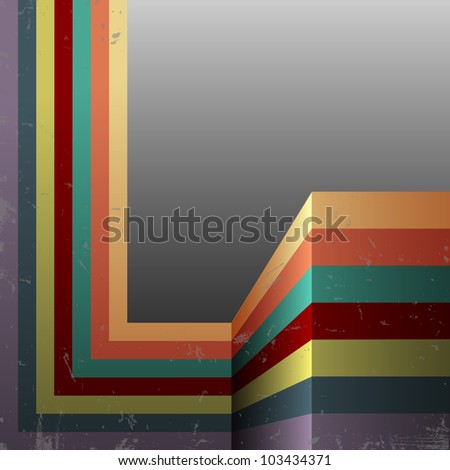 Abstract retro background.Vector eps10 - stock vector