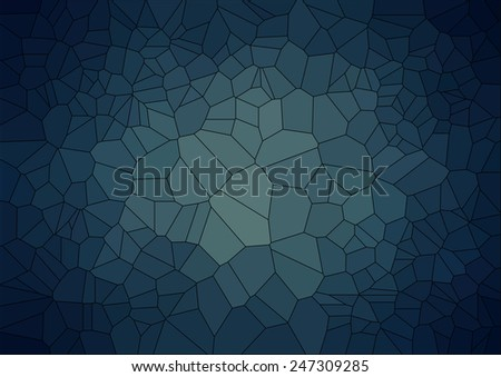 abstract  retro background with ceramic  geometric shapes - stock vector