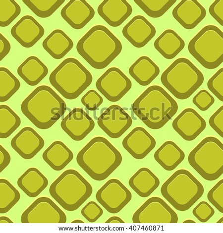 Abstract retro Seamless Pattern. Vector geometric design, modern art graphic. It can be used for mobile games. - stock vector