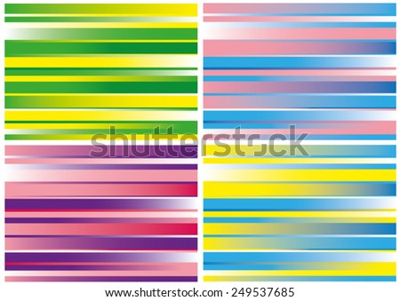 Abstract retro striped colorful backgrounds