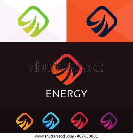 Abstract rhombus logo sign symbol element icon vector design - stock vector
