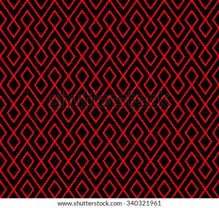abstract rhombus pattern background with red and black.vector