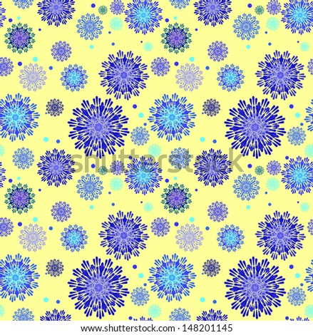 abstract round seamless background vector illustration