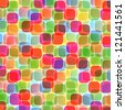Abstract rounds background vector - stock