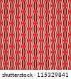 Abstract 50s Modern Vector Background Pattern - stock photo