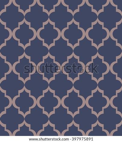 Abstract Seamless  Art Deco Vector Pattern - stock vector