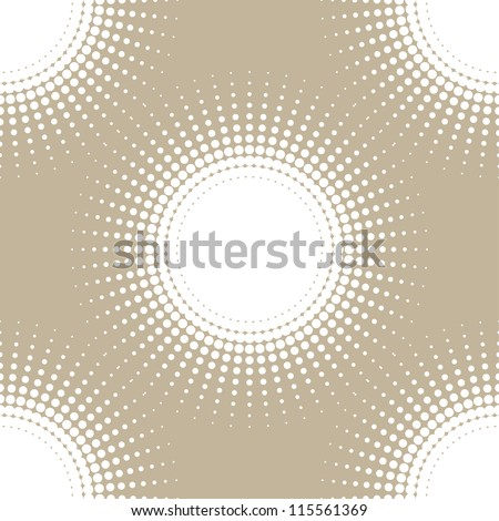 abstract seamless background. halftone(vector eps8) - stock vector