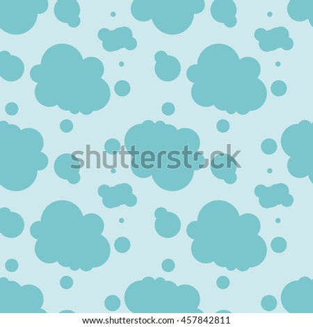Abstract seamless background illustration with blue spots.