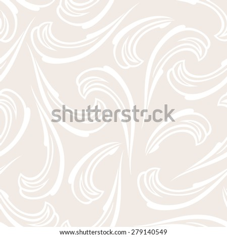 Abstract seamless background vintage pattern. Vector illustration - stock vector