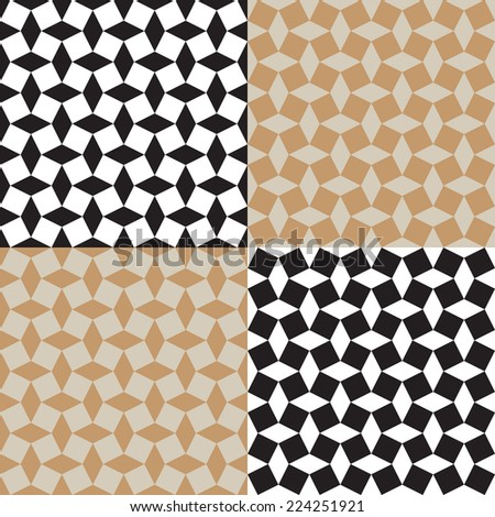 abstract seamless bold pattern  - stock vector