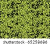abstract seamless floral background vector illustration - stock vector