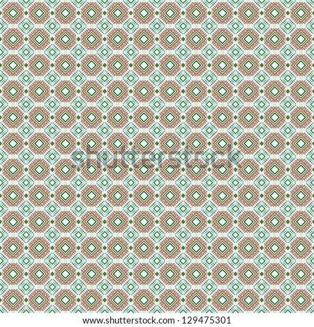 Abstract Seamless Geometric Pattern - stock vector