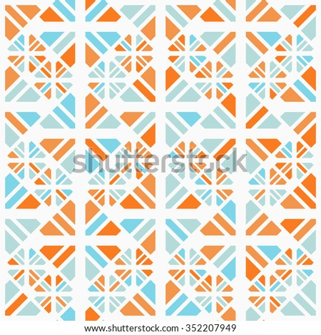 Abstract seamless pattern background vector design.